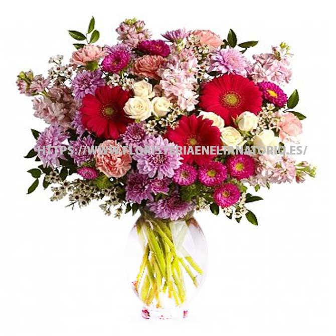 Ramo floral funebre para tanatorios