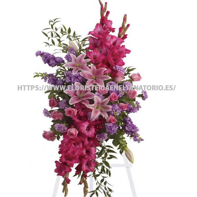 palma floral funebre para tanatorios