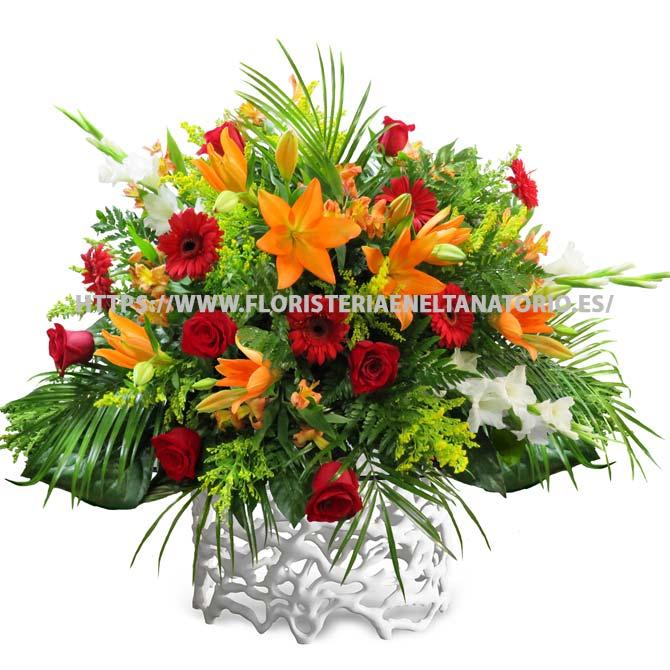 centro floral funebre para tanatorio